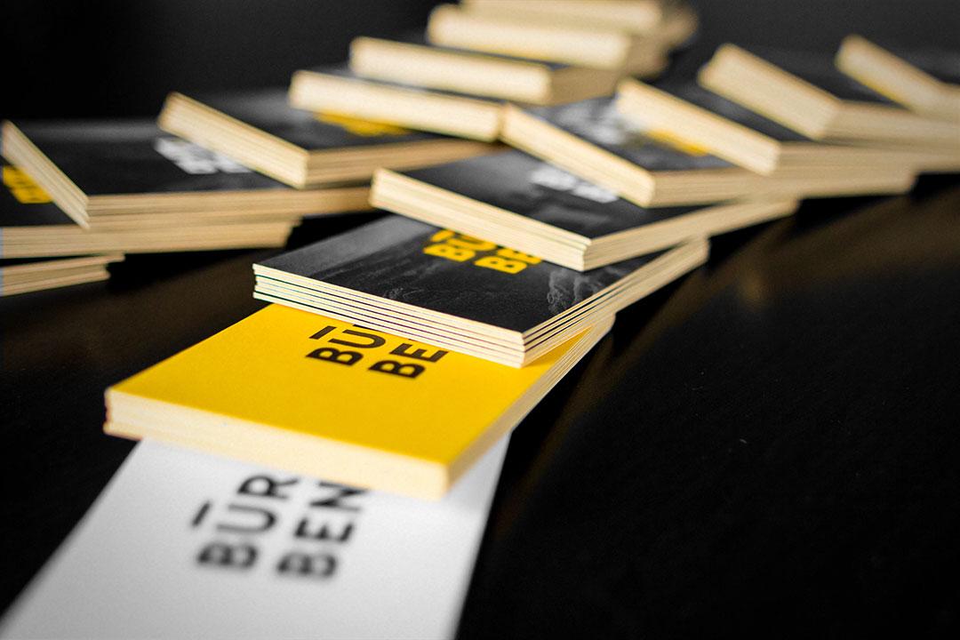 Visitenkarten - Büro Benedickt