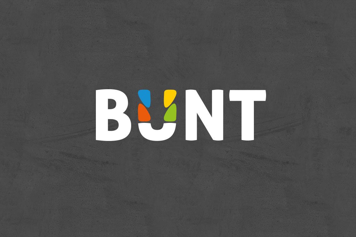 Logodesign BUNT von BueroBenedickt